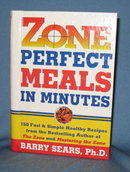 Zone Perfect Meals in Minutes by Barry Sears
