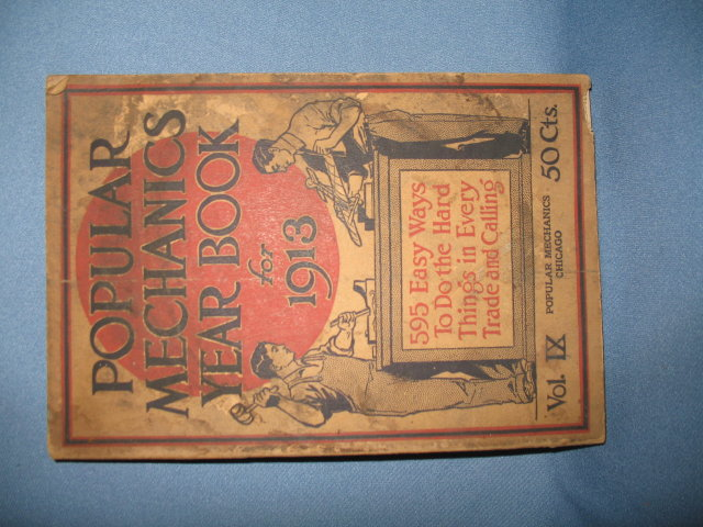Popular Mechanics Year Book for 1913, Shop Notes for 1913, volume IX, pages 1847-1853