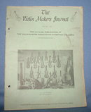 The Violin Makers Journal April-May 1963