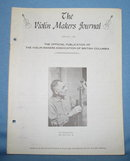 The Violin Makers Journal June-July1963