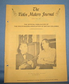 The Violin Makers Journal March-April 1964