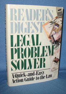 Reader's Digest Legal Problem Solver