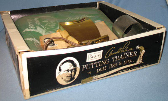 Sears Arnold Palmer Electronic Putting Trainer in original box
