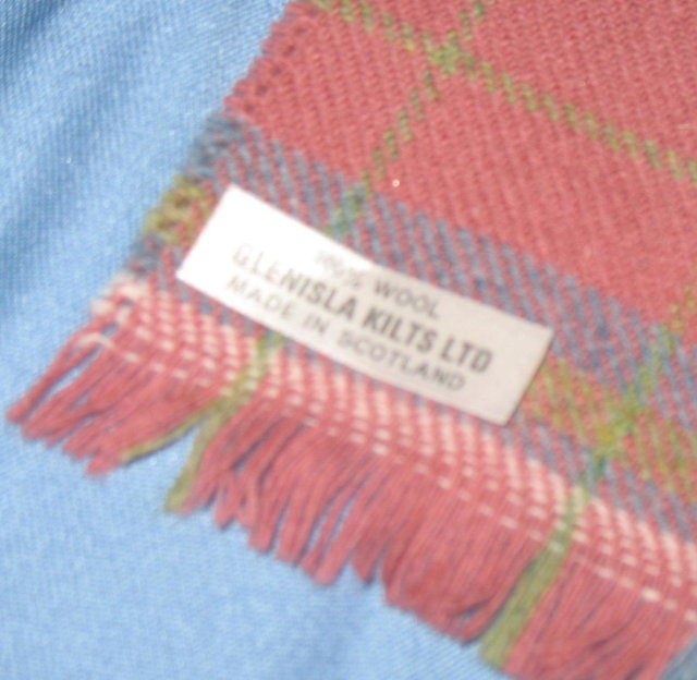 Glenisla Kilts Ltd. 100% Wool scarf