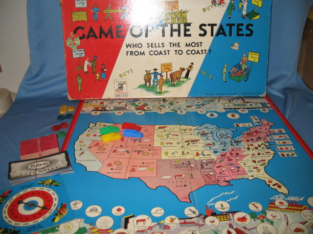 Game of the States by Milton Bradley
