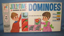 Jolly Time Dominoes by Milton Bradley