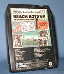 Beach Boys '69, The Beach Boys Live in London stereo eight track tape