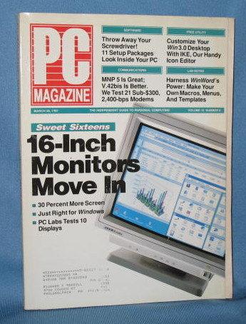 PC Magazine, March 26, 1991