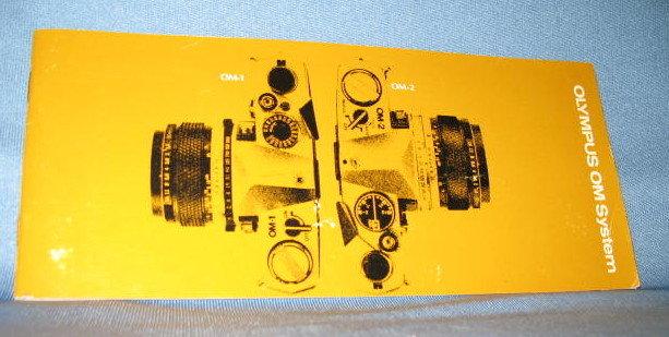 Olympus OM System information book