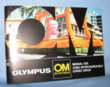 Olympus OM System Manual for Zuiko Interchangeable Lenses Group