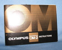 Olympus OM-2 Instructions Book