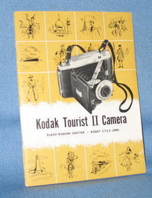 Kodak Tourist II Camera instruction booklet