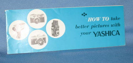 How to take Better Pictures with Your Yashica Booklet