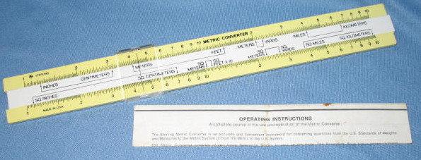 Sterling Metric Converter