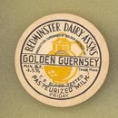 Bedminster Dairy Associations Golden Guernsey milk bottle cap