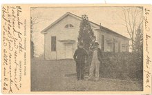 Historical Friends' Meeting House, Quakertown Pennsylvania  postcard