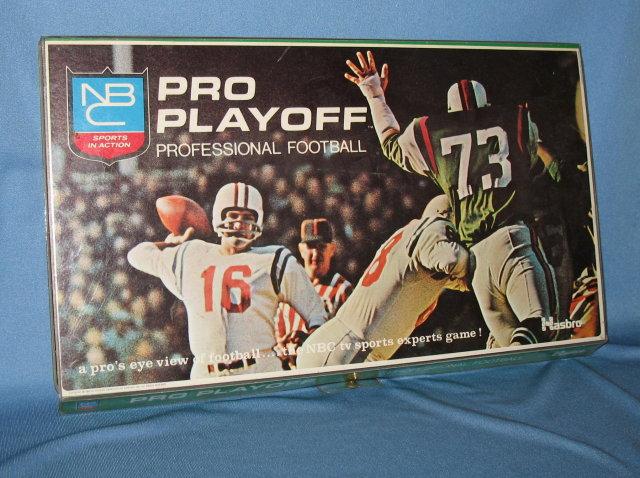 NBC Pro Playoff Professional Football by Hasbro