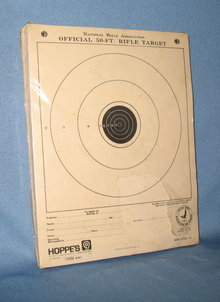 Hoppe's National Rifle Association 50-ft. Rifle Targets sealed pack