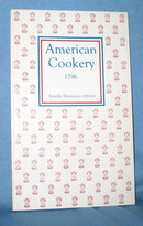 American Cookery 1796 by Amelia Simmons, orphan