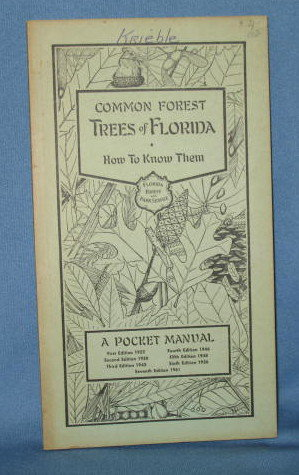Common Forest Trees of Florida from the Florida Forest and Park Service, 7th edition