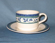 Pfaltzgraff Orleans cup and saucer