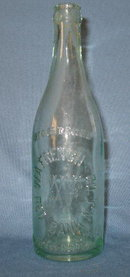 W. A. French & Co., Red Bank,  NJ embossed  beverage bottle
