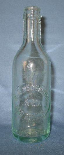 H. G. Degenring & Co., Red Bank,  NJ embossed  beverage bottle