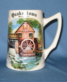 Quakertown Pennsylvania ceramic mug