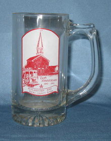 Richlandtown (PA) 100th Anniversary glass mug