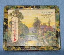 Dietz's Garage Wrightsville PA thermometer