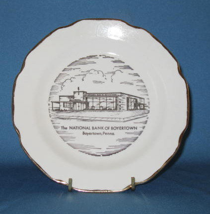 National Bank of Boyertown (PA) plate