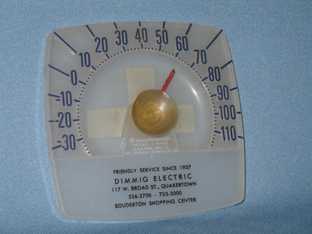 Dimmig Electric Quakertown and Souderton PA window thermometer