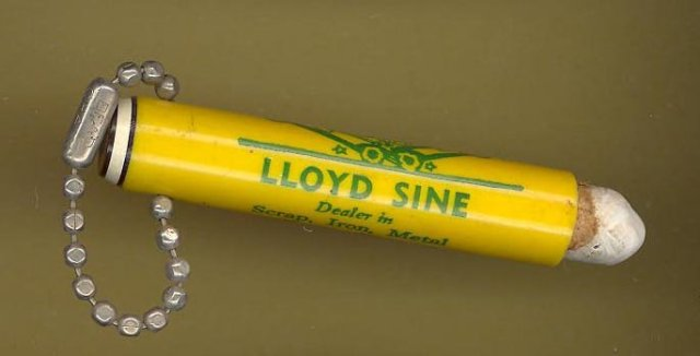Lloyd Sine Perkasie PA chalk pencil sleeve