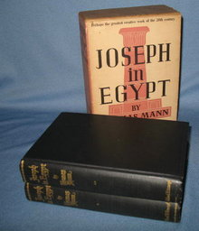 Joseph in Egypt by Thomas Mann, 2 volume boxed set