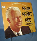 Alan McGill: Near to the Heart of God  33 RPM LP record