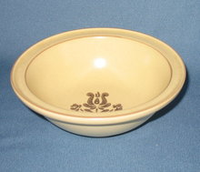 Pfaltzgraff Village brown soup/cereal bowl