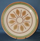 Taylor, Smith, and Taylor: Taylor Ironstone Indian Morn dinner plate