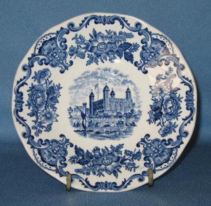 Enoch Wedgwood (Tunstall) Ltd. Royal Homes of Britain saucer