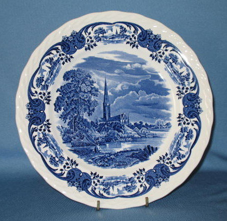 W. H. Grindley & Co. Ltd. Scenes After Constable dinner plate