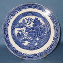 Barker Bros. Ltd. blue willow bread plate