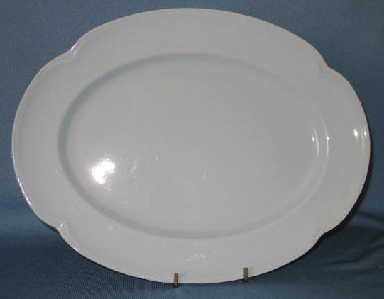Johnson Bros. Greydawn oval platter
