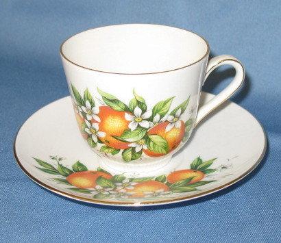Schumann/ Bavaria Florida cup and saucer