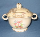 Paden City Pcp 71 lidded sugar