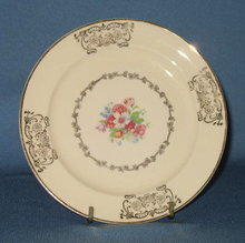 Paden City Pcp 71 bread plate