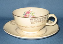 Paden City Pcp 71 cup and saucer
