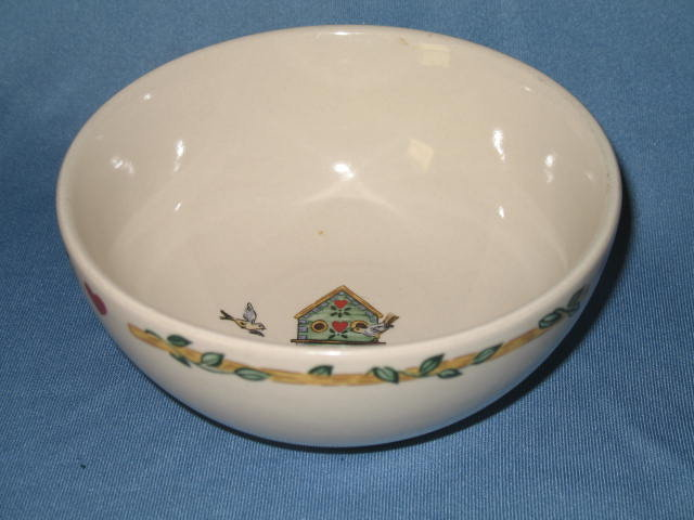 Thomson Pottery Birdhouse coupe soup bowl
