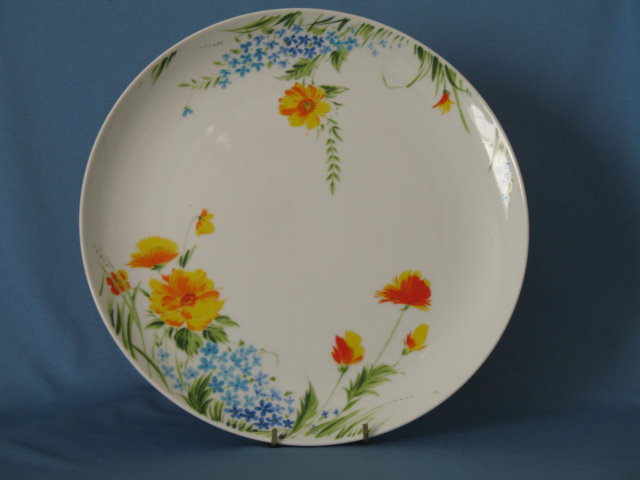 Imperial China Just Spring round chop plate