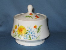 Imperial China Just Spring lidded sugar
