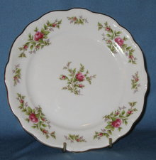 Johann Haviland, Bavaria Germany Moss Rose salad plate