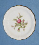Johann Haviland Bavaria Moss Rose coaster